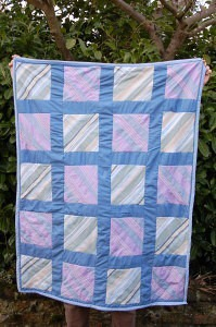 Upcycled Shirt Quilt