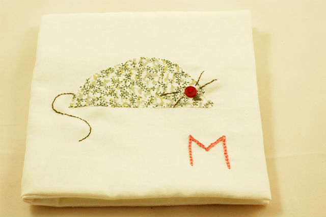 Mouse fabric books