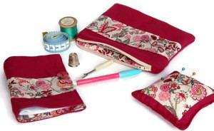 Pink Sewing Set