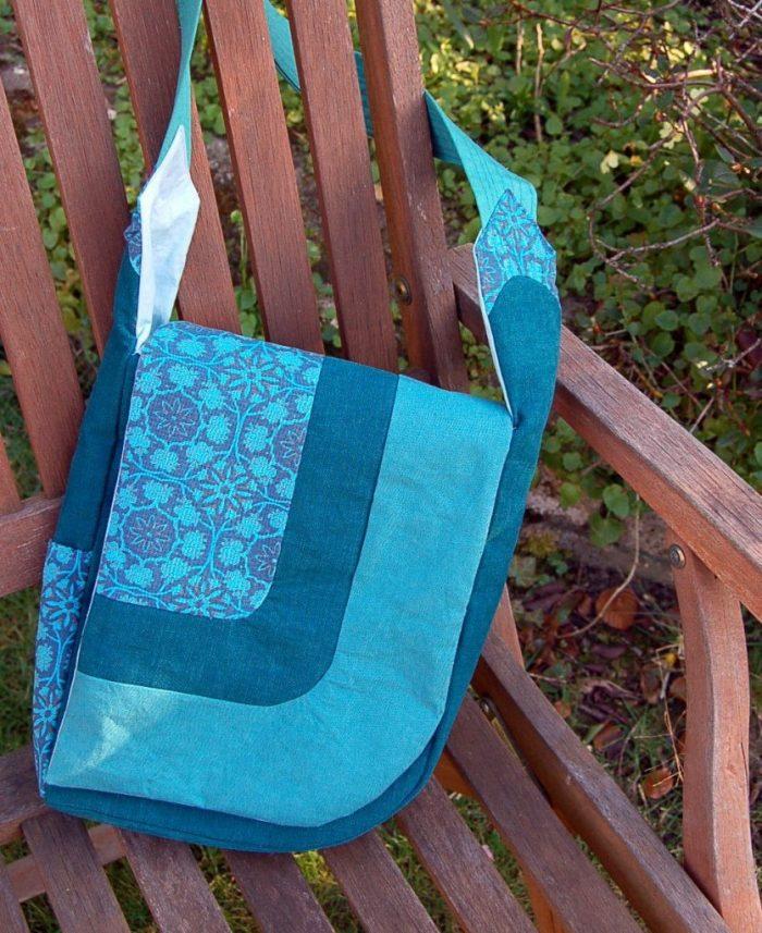 pattern testing, hands-free asymetrical bag