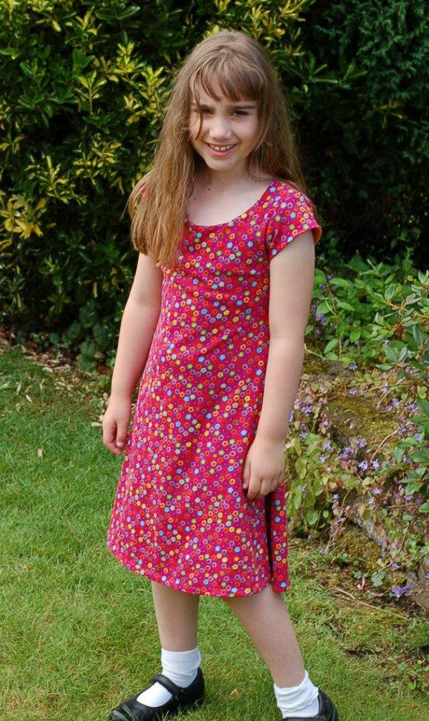 Dress Pattern review Uptown/Downtown Dress TerriLin
