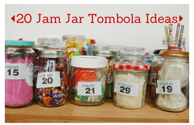 20 Jam Jar Tombola Ideas Vickymyerscreations