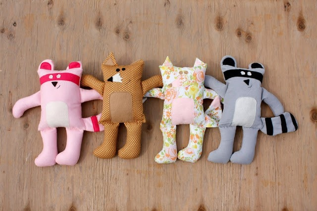Cuddly toy pattern