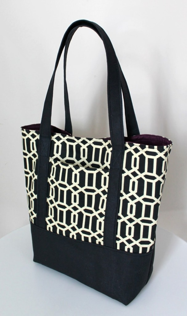 Lined Canvas Tote