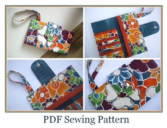 Bi-fold-Wallet-Sewing-Pattern-Cash-Card-Purse
