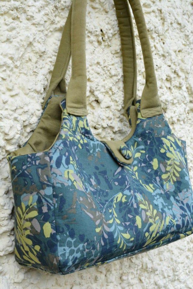 Upcycled Skirt Bag