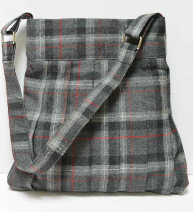 tweed shoulder bag