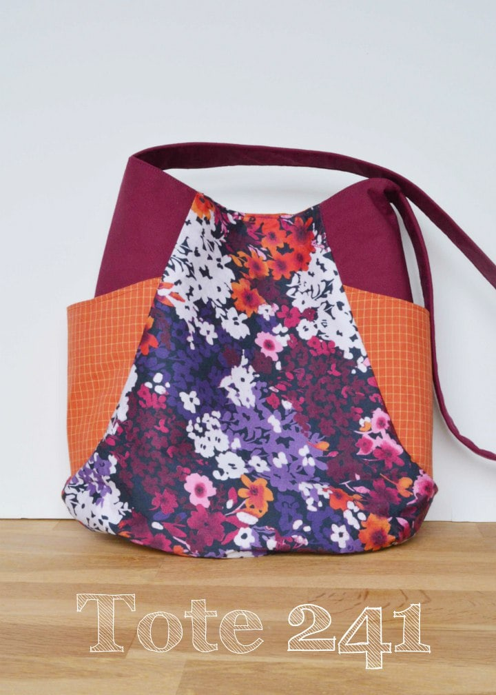 Recycled Fabrics Tote 241 Vicky myers Creations