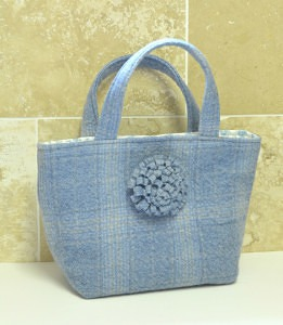 Recycled Tweed Bag Tutorial Vicky Myers Creations