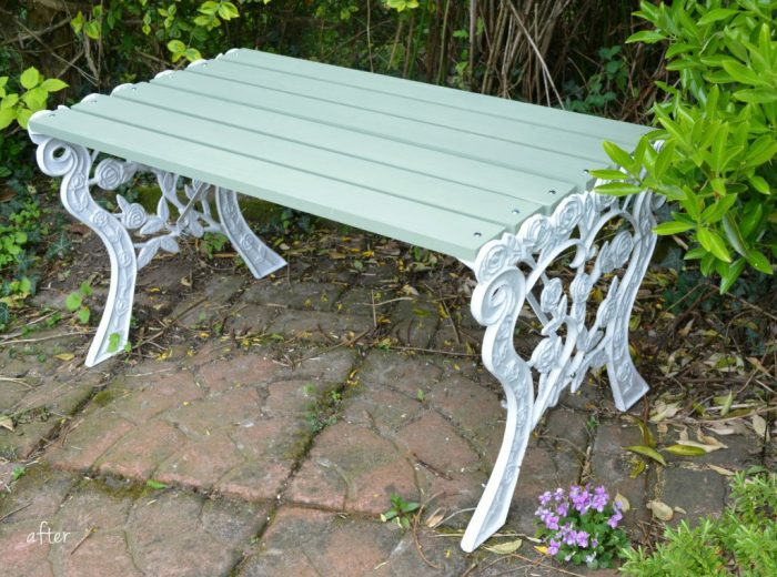 Reloved garden bench