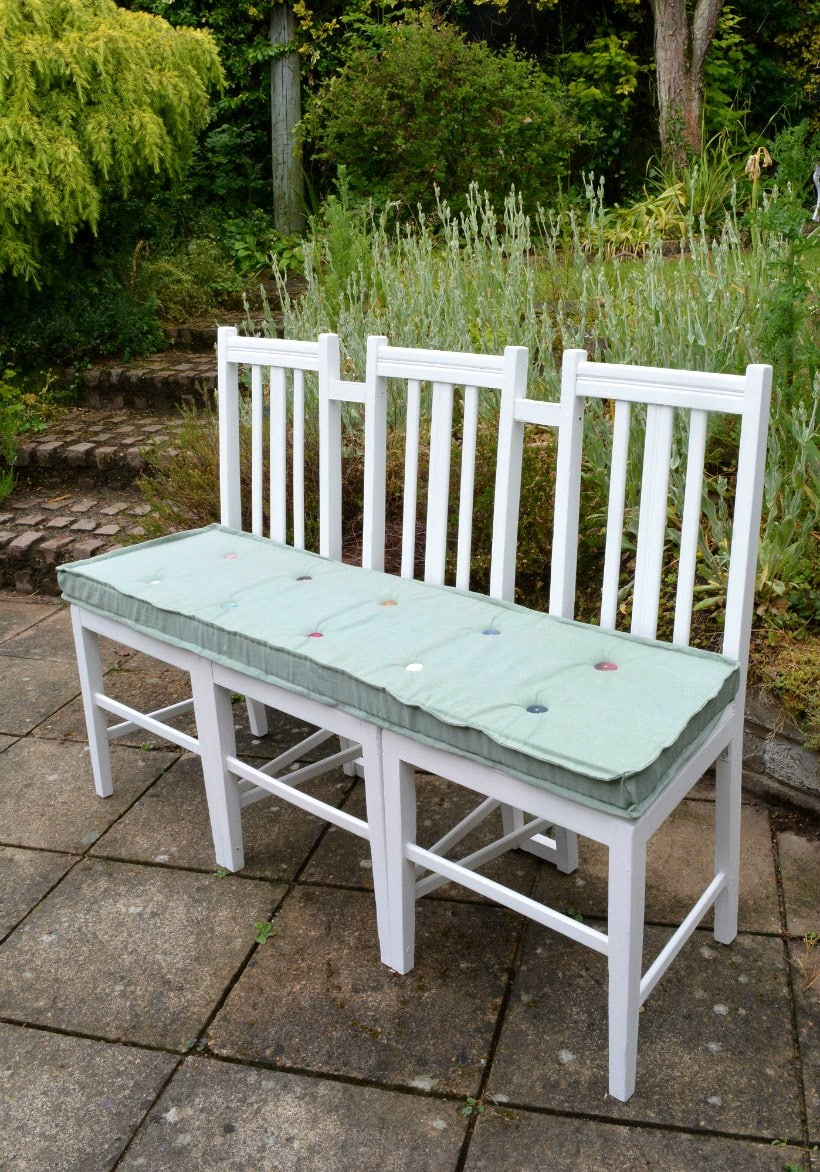 DIY Bench Seat - Upcycled Furniture - vicky myers creations