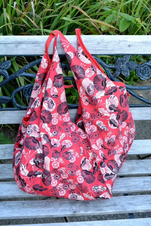 Upcycled DIY Beach Bag