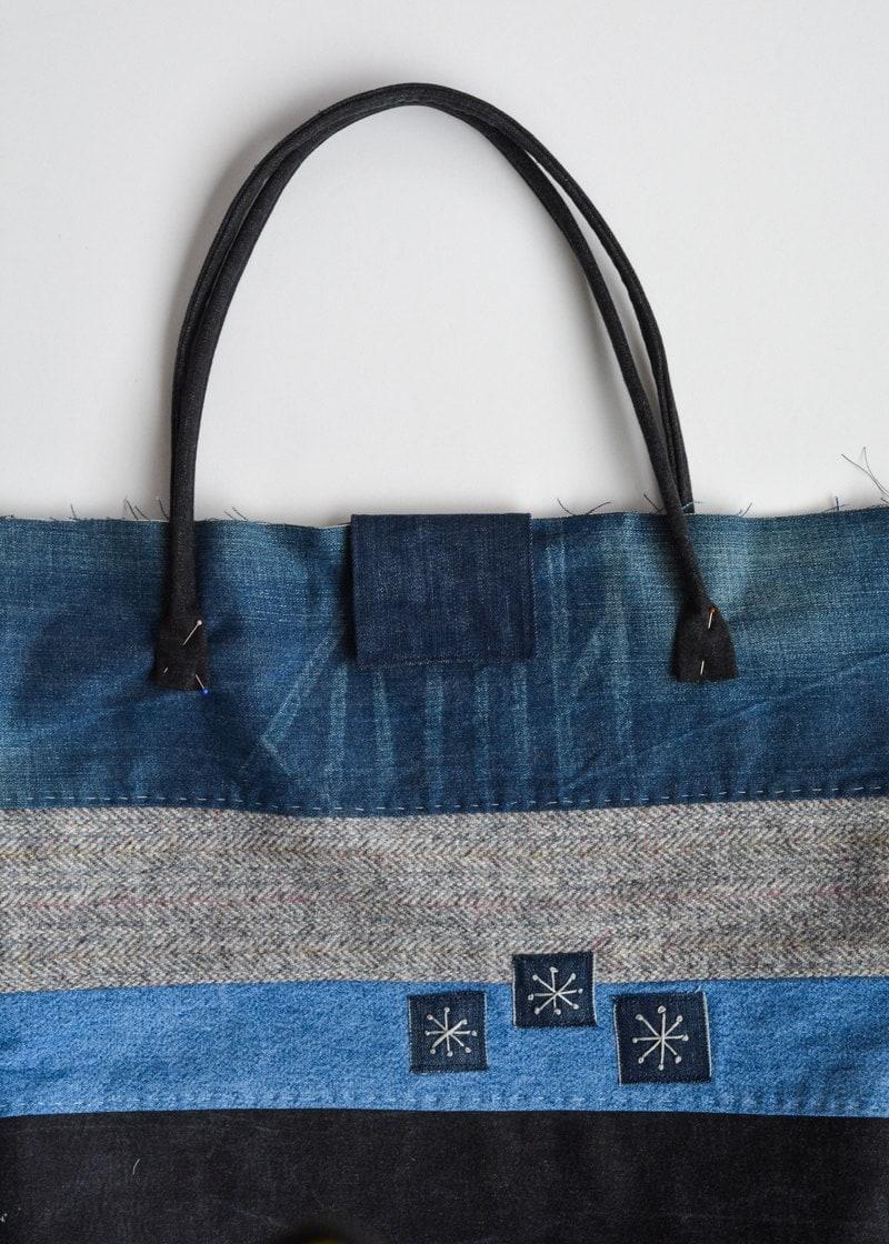 place bag handles