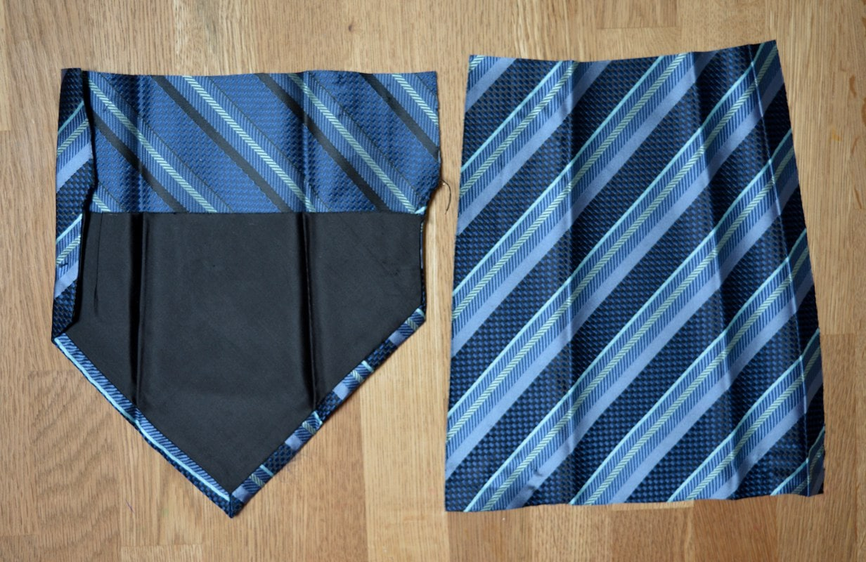 Tie cut into 25 cm pieces