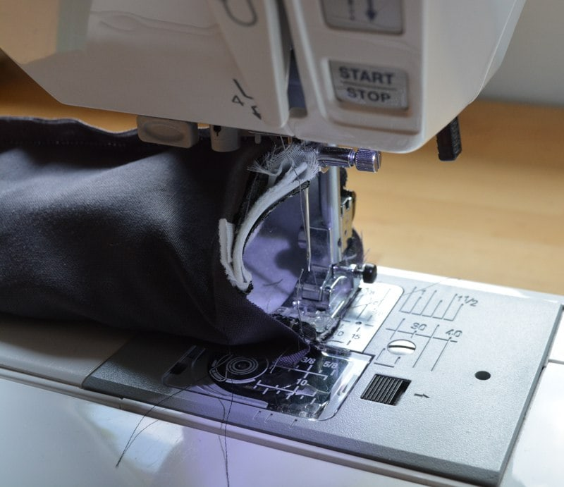 lining stitching