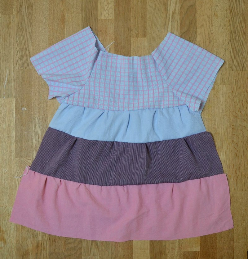toddler dress pattern using refashioned shirts