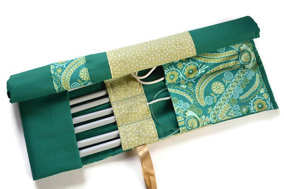 green knitting needle case VMC