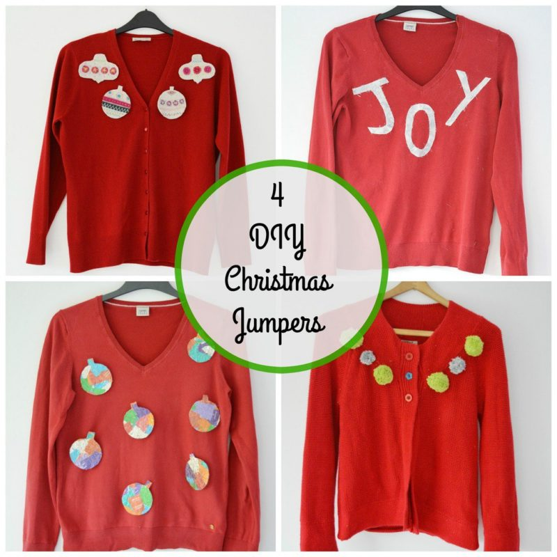 Homemade Ugly Christmas Sweater Ideas, DIY Christmas Jumpers
