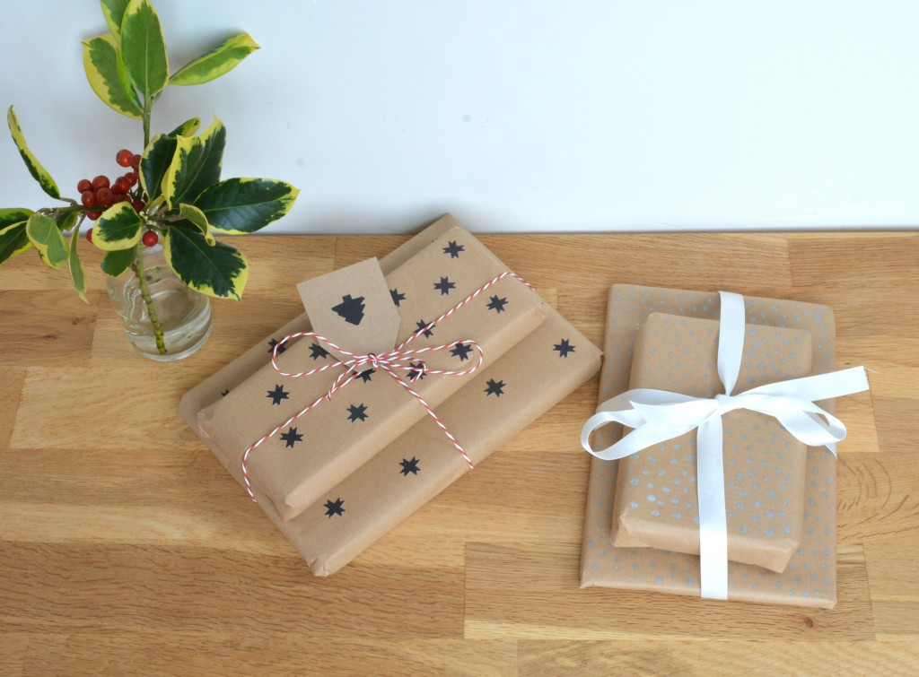 Briwn paper wrapping