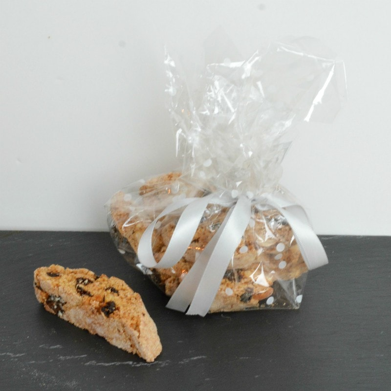 Cellophane wrapping - biscotti