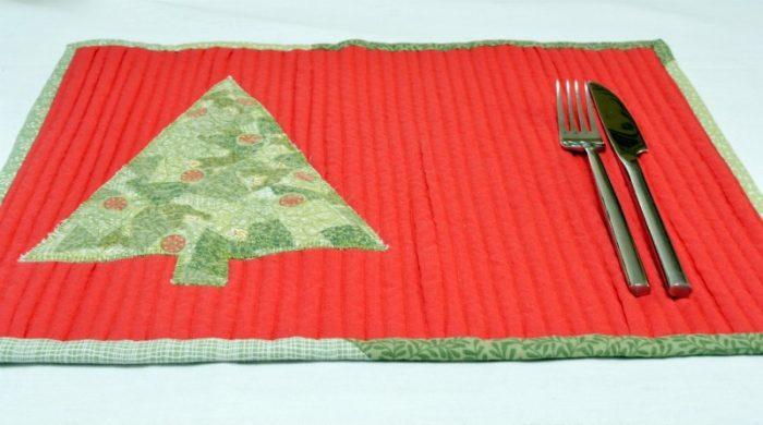 Christmas Scarppy Mat