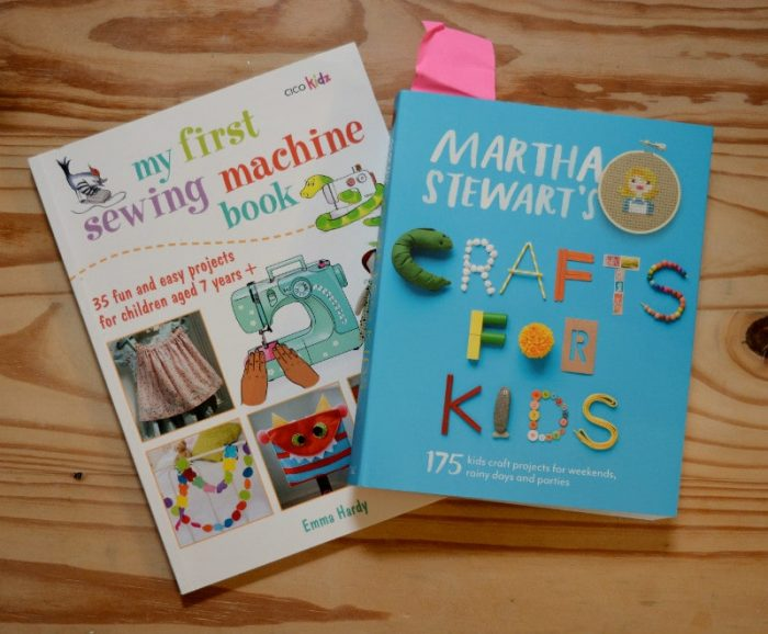 Inspirational books for teaching your child to sew