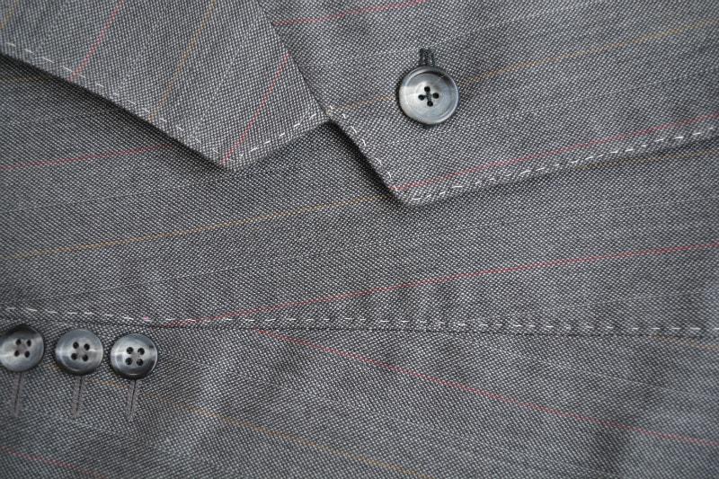 Hand sticthing empahsized jacket details