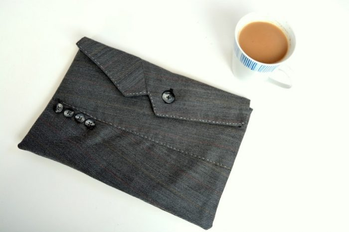 Jacket Upcycled tablet case