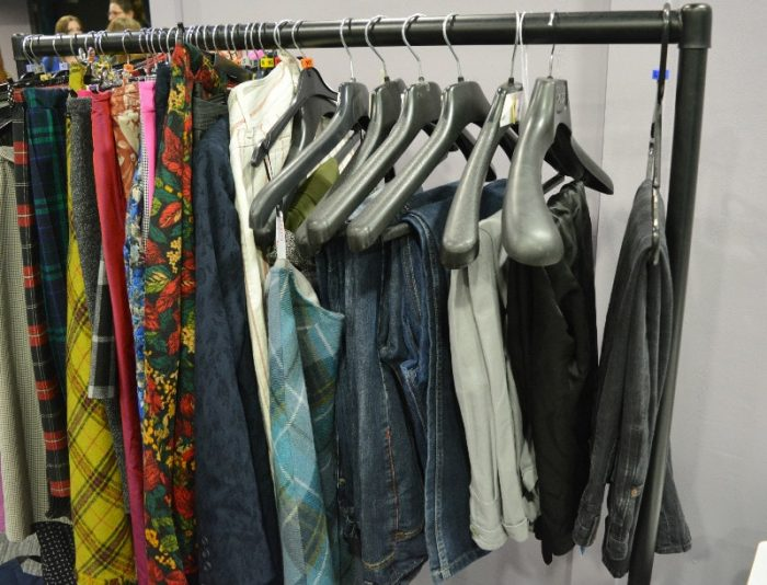 Norwich Fashion Jam, clothes for selection
