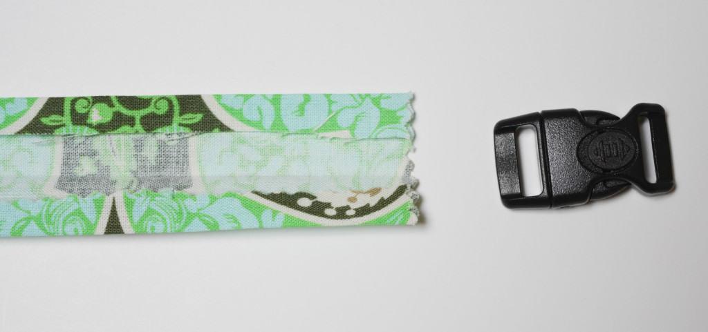 Fabric buckle strap