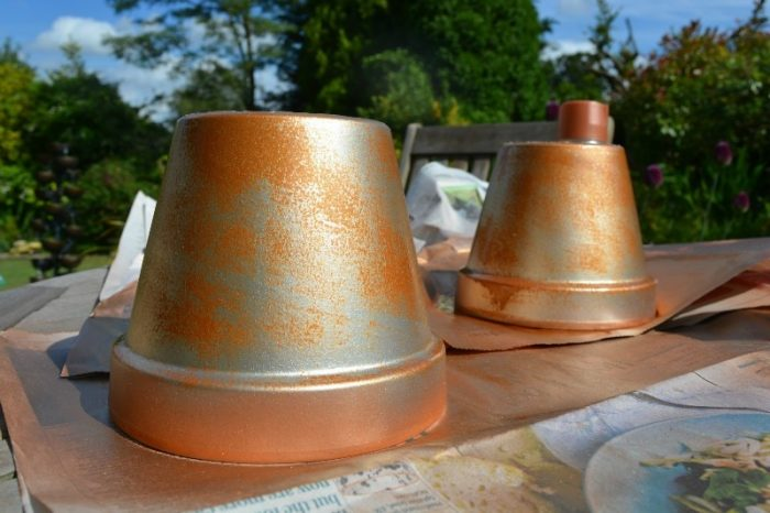 Copper spray paint