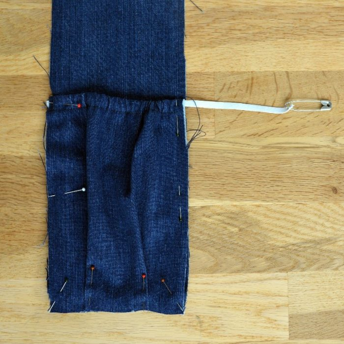 Side pocket, pin into place and baste - Copy