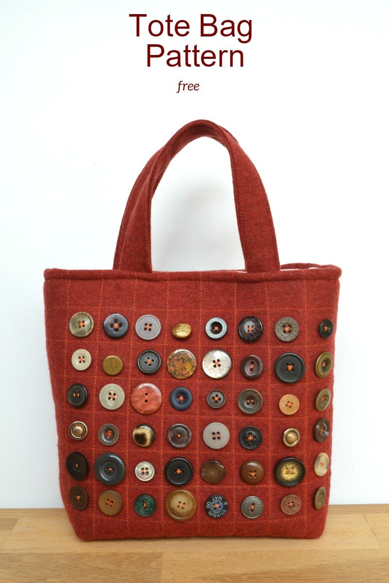 Refashion runaway buttons free bag pattern vicky myers creations jeuxipadfo Gallery