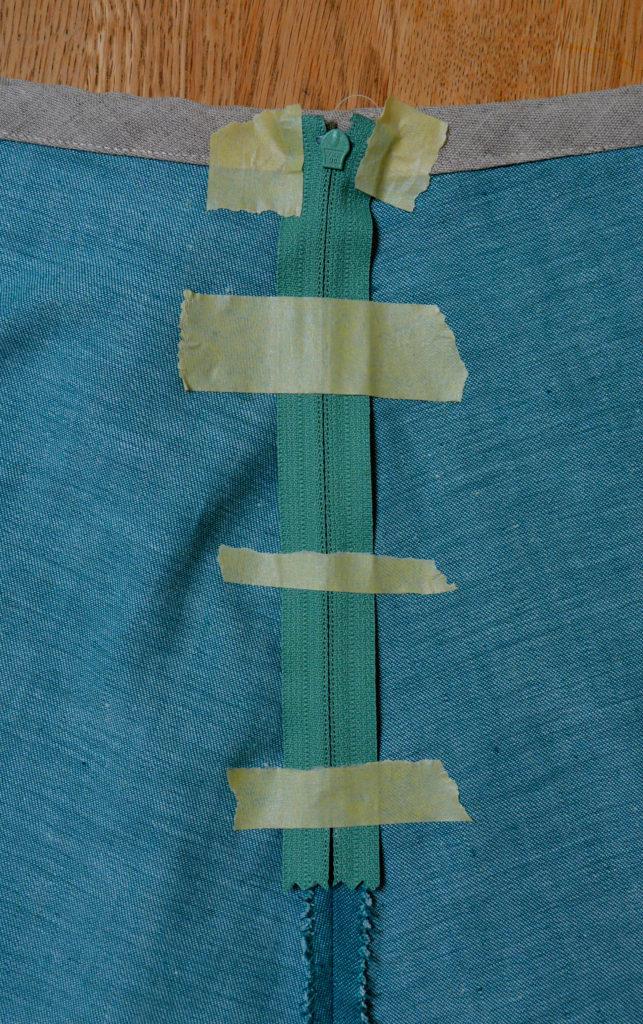 zipper-placement