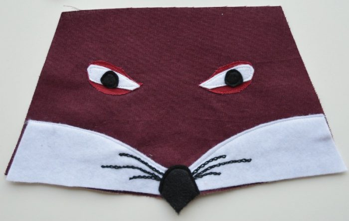 fox-face-applique-design