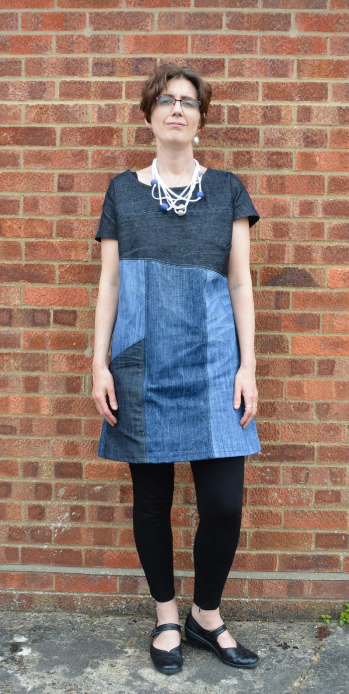 Essential Denim Dress Pattern Review