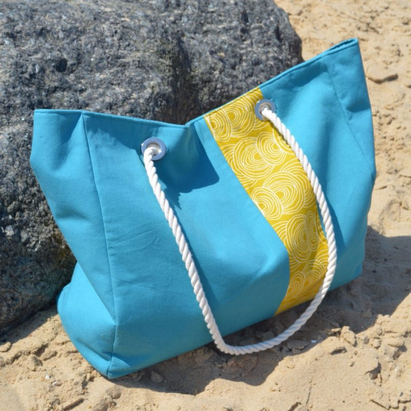 Large Beach Bag Pattern