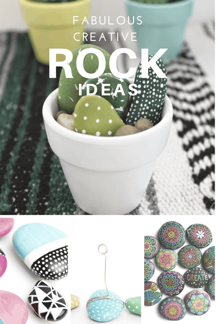 Creative Ideas for Pebbles &Rocks, Great tween activities, Tutorials, DIY