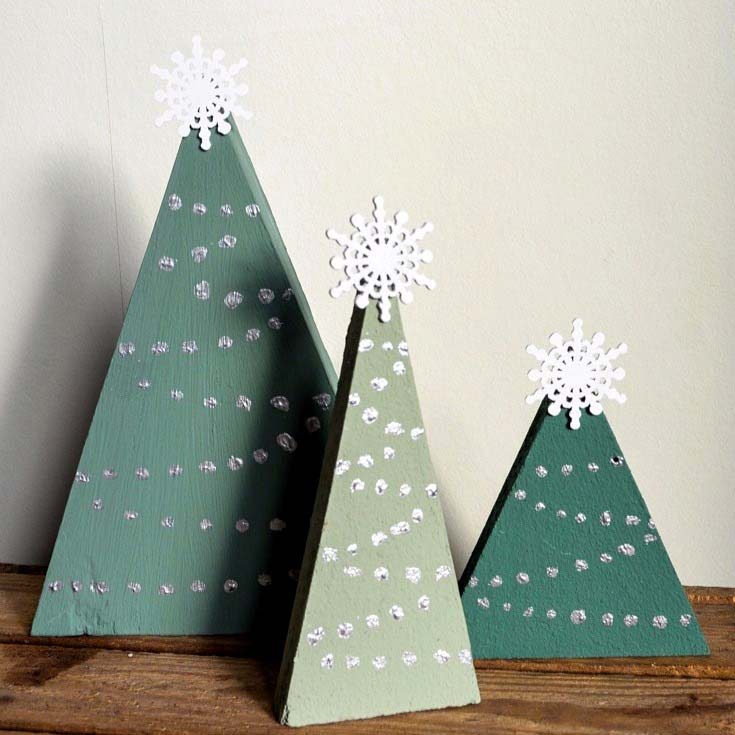 Home Made Modern Craft Of The Week 2 Rustic Christmas Stars: DIY Rustic Christmas Decorations- Transform Wood Offcuts