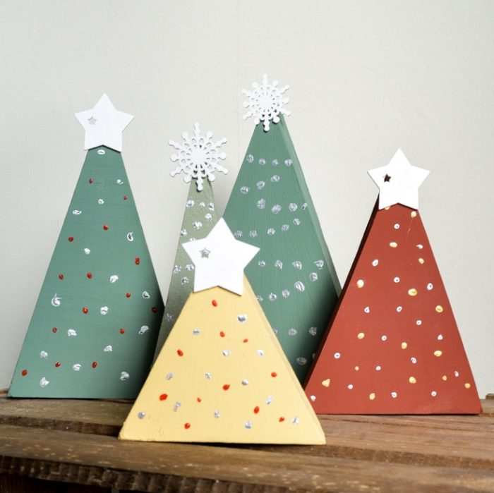 DIY Rustic Christmas Decorations