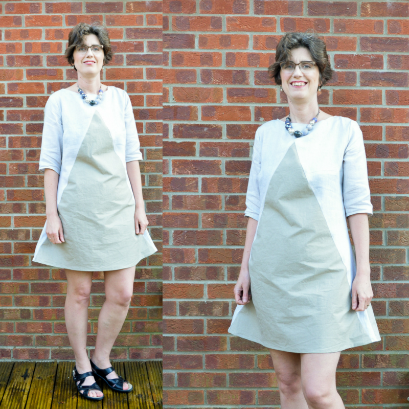 Colourblock dress pattern review, sew different