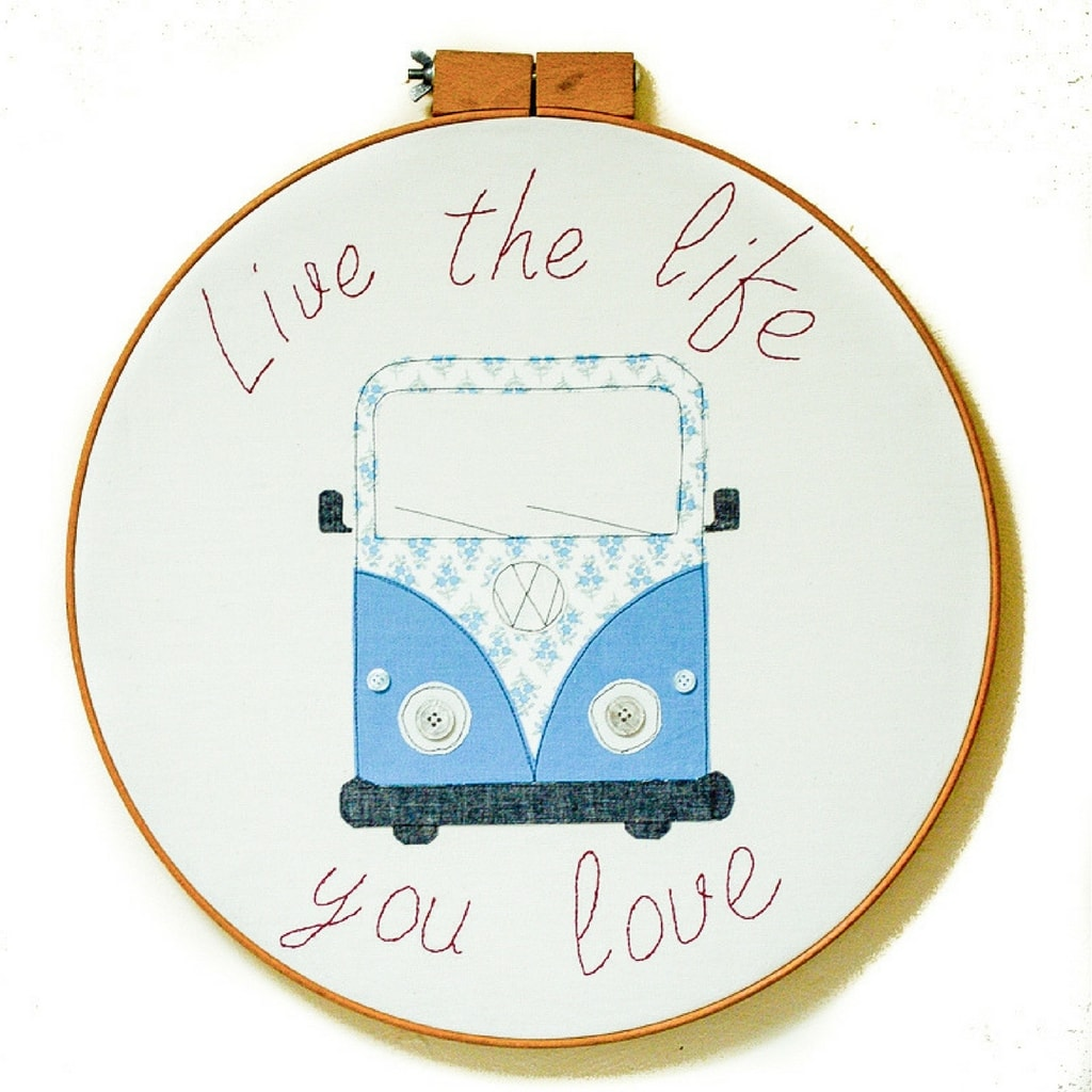 Diy campervan wall art vicky myers creations