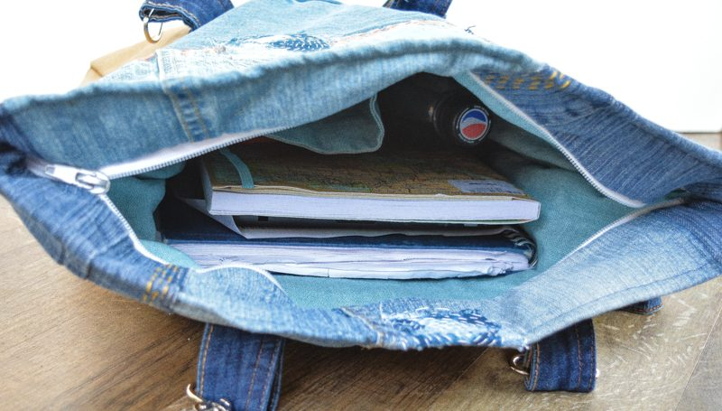 Recessed Zipper in the Retro Rucksack, pattern review