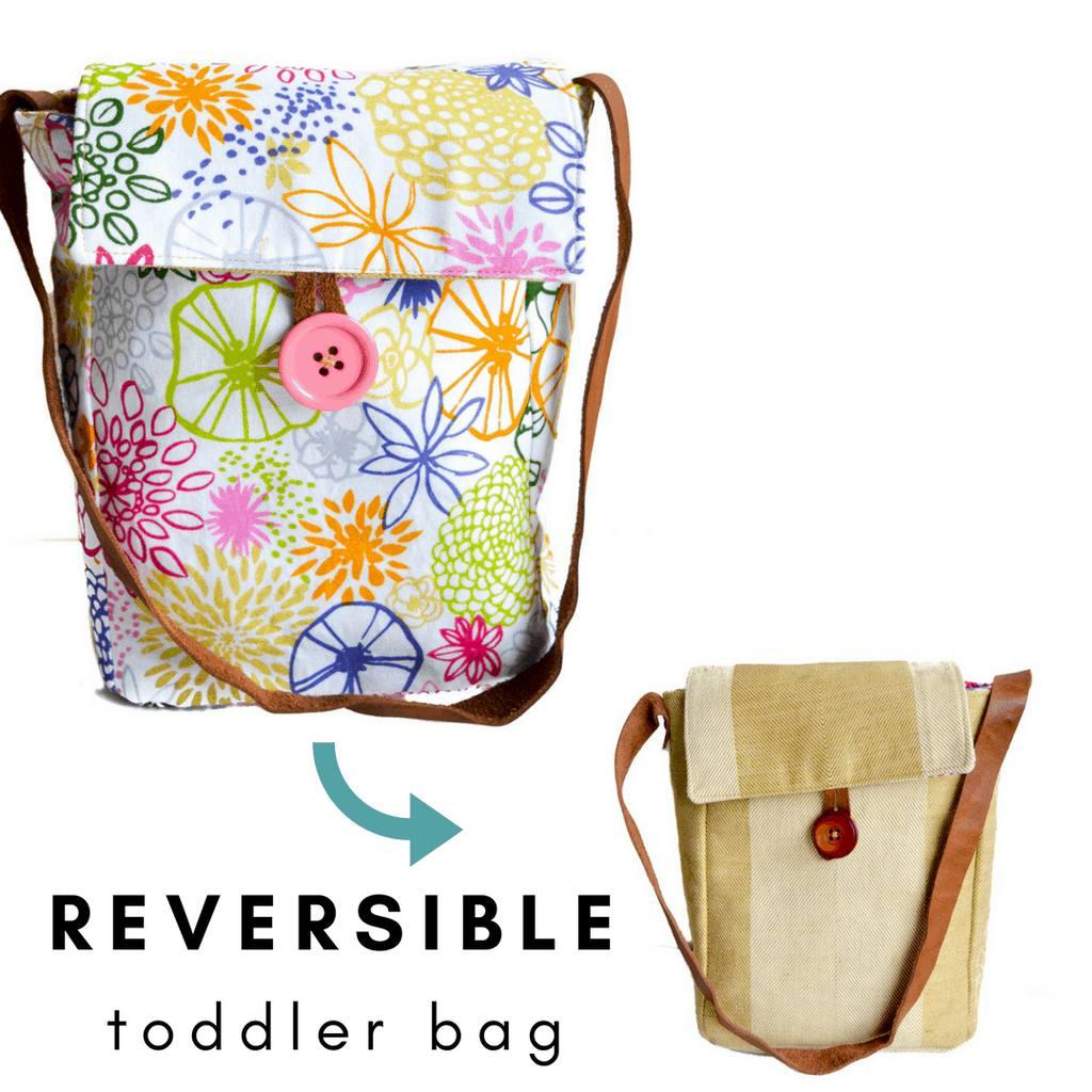 free reversible toddler bag pattern -