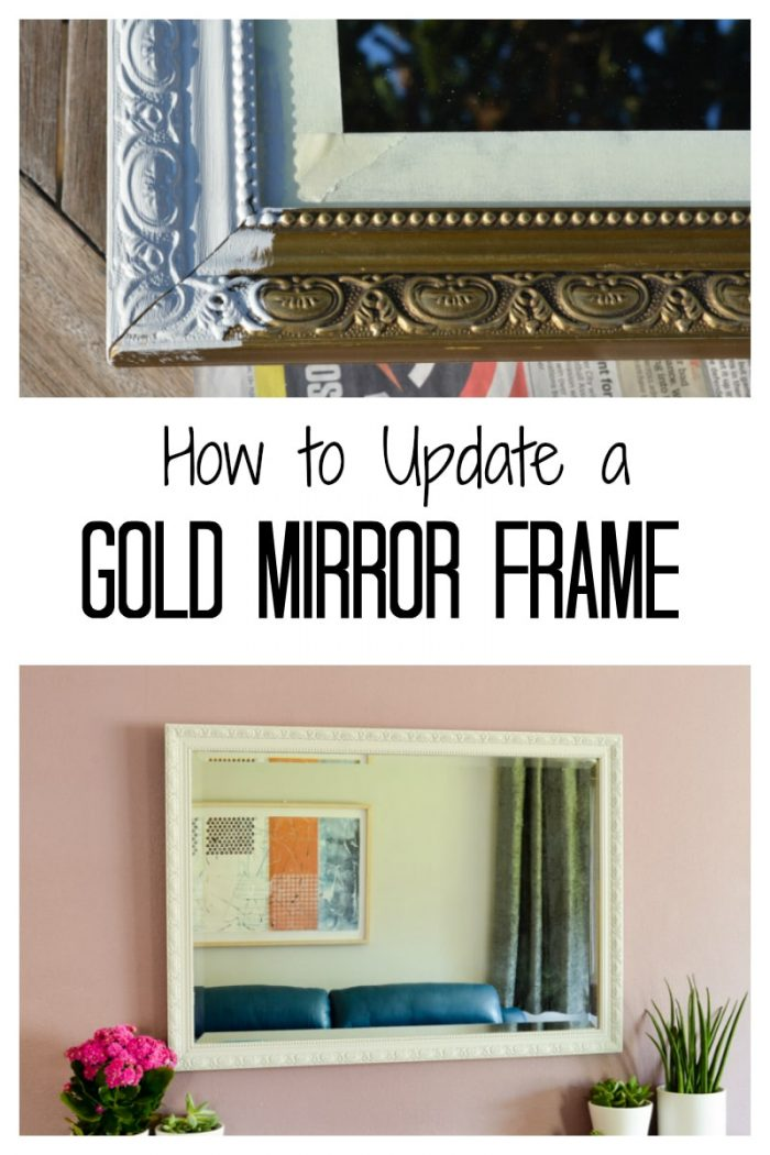 How to update a dated mirror with fusion mineral paint, Gold, textured, ornate and carved mirror frames can be transformed in minutes. How to Update and Revamp Large Mirrors.