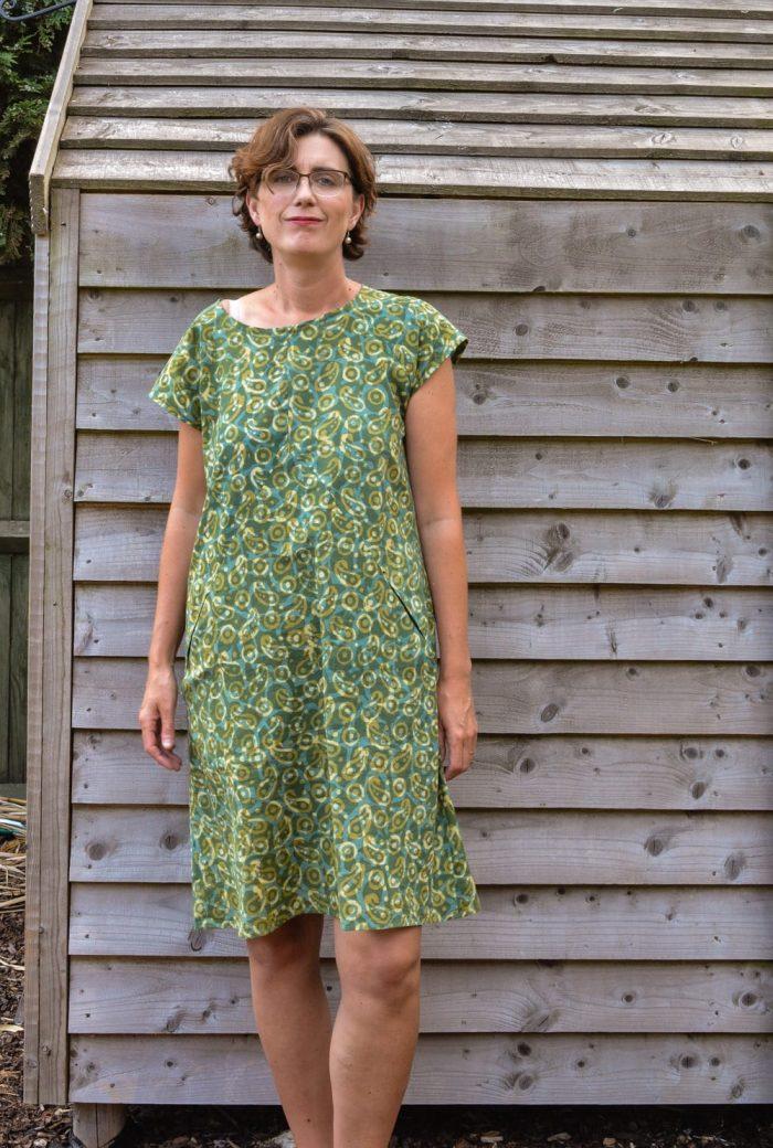 Moon Pocket Maxi Dress Pattern review