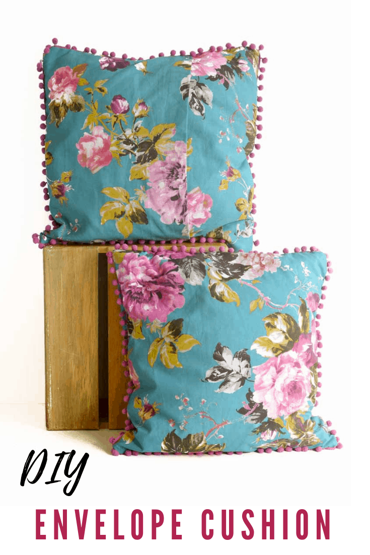 DIY Envelope Cushion Covers