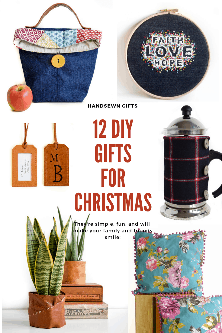 Sewing gift ideas for all the family, Sew up your Christmas Gifts this year