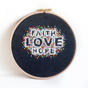 #embroideryhoopart