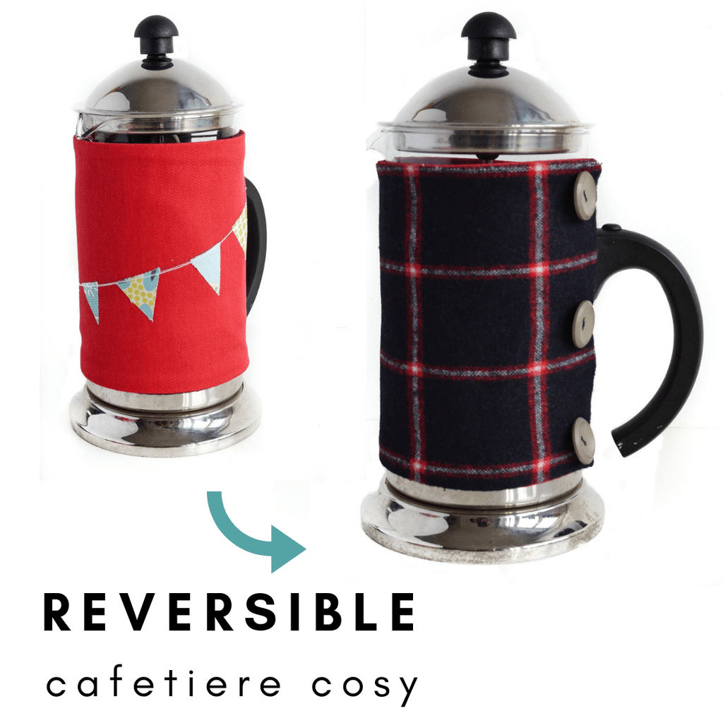 Reversible Cafetiere Cosy Pattern